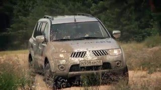 Mitsubishi Pajero Sport тест-драйв