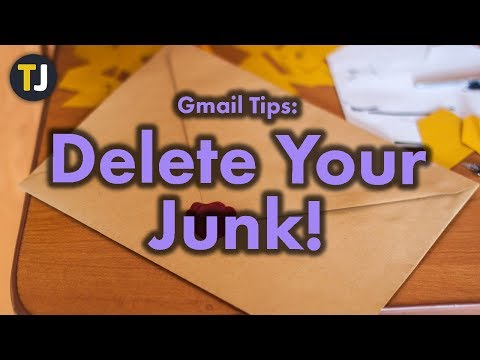 Deleting and Stopping Junk Mail in Gmail!