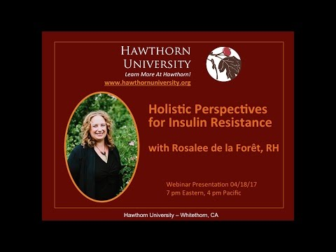 Holistic Perspectives for Insulin Resistance with Rosalee de la Forêt, RH