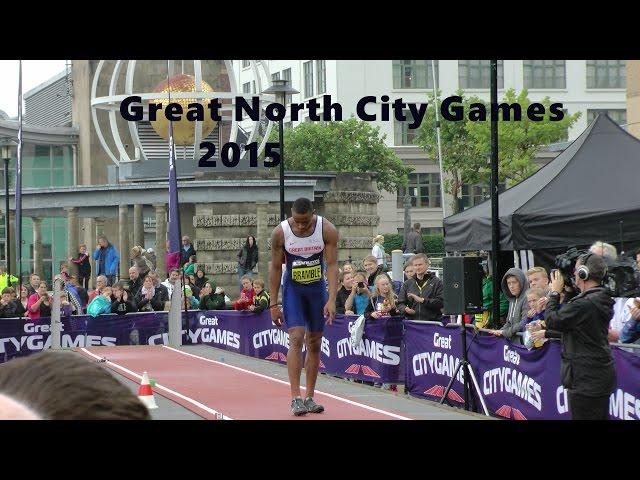 Great North City Games 2015 Long Jump