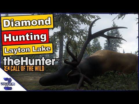 Diamond Hunting Call of the Wild Layton Lake #1 TheHunter 2017