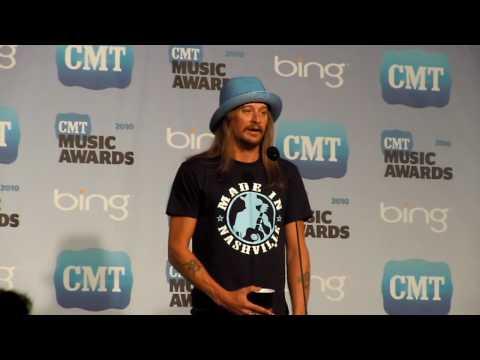 Kid Rock Interview 2010 CMT Music Awards