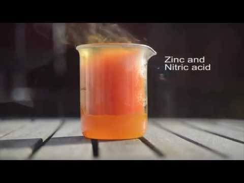 Reactions Of Nitric Acid