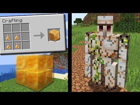 Minecraft 1.15: NOVO BLOCO DE MEL VAI REVOLUCIONAR O MINECRAFT! E IRON GOLEM VAI QUEBRAR!