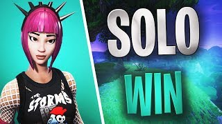 FORTNITE - Power Chord SKIN - Solo WIn INSANE Building 2018 new skins Pink Hair