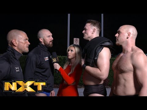 Marcel Barthel & Fabian Aichner receive an unexpected challenge: WWE Exclusive, Jan. 9, 2019