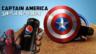 how to make captain america shield (keychain)
