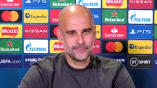 Pep Guardiola - Man City v PSG - Pre-Match Press Conference - Champions League Semi-Final