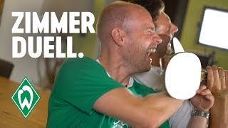Zimmerduell - Davy Klaassen & Stefanos Kapino | SV Werder Bremen