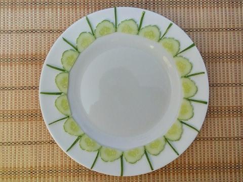 Vegetable Plate Decoration (17) || Vietnam Food Channel ...