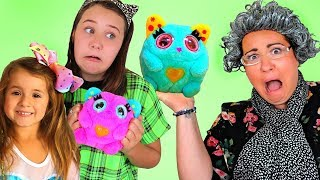 Ruby & Bonnie Pretend Play With New Nestlings | Funny Story For Kids