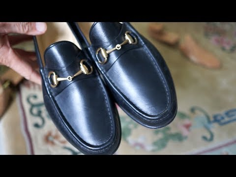 43a4eff8f2e Vintage Gucci Loafers - Classy Comfort - YouTube