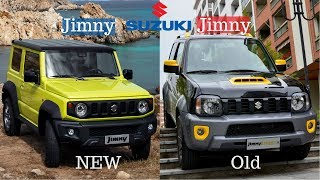 New vs Old Suzuki Jimny 2018 Jimny vs 3-rd Gen Jimny