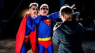 Режиссер Алексей Воробьев снял новый клип для Коли Коробова с супер героями!