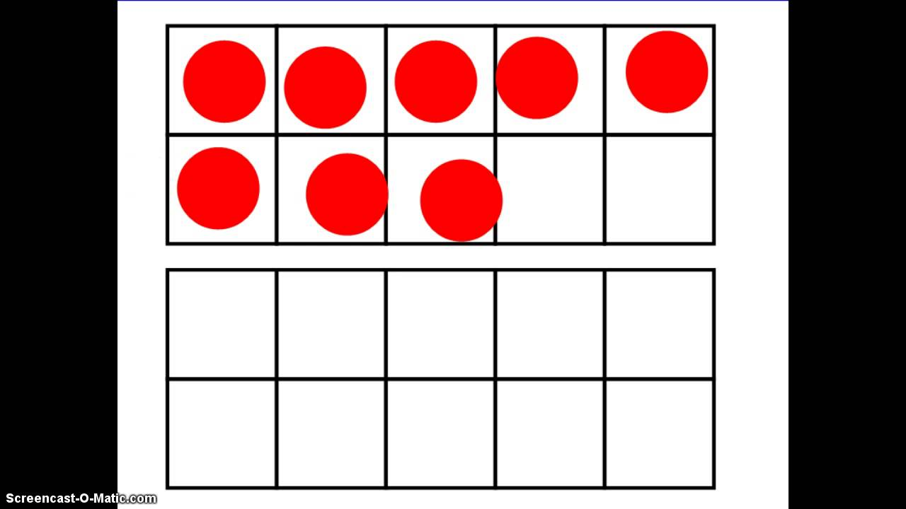 Kindergarten 10-Frames - Singapore Math - YouTube