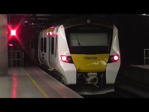 Thameslink Trains at London St Pancras International Low Level - 11/07/16