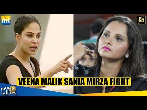 Big Fight Between Sania Mirza and Veena Malik