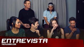 The Flash - Entevista com o cast  (SDCC 2015 - TV LINE) [Legendado - PT-BR]