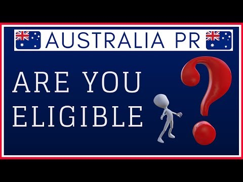 🇦🇺 Australia PR - Check your Eligibilty