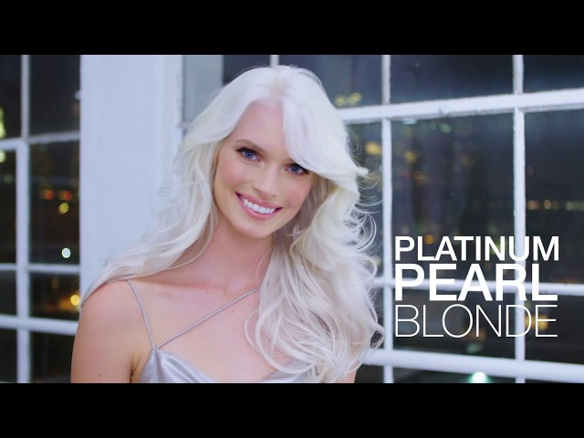 Platinum Pearl Blonde Hair Color Formula and Step-By Step