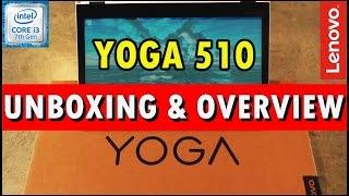LENOVO YOGA 510 | intel i3 7th Gen | UNBOXING & REVIEW | 2017 |