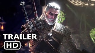 PS4 - Monster Hunter  World – The Witcher 3  Wild Hunt Collaboration Trailer (2019)