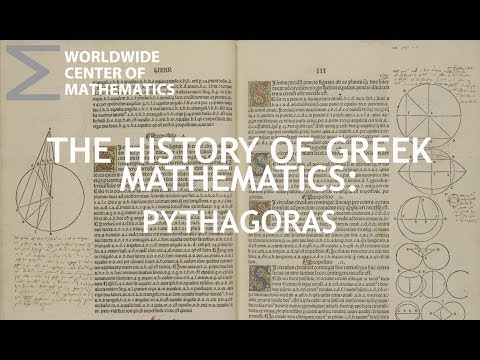 Greek Mathematics: Pythagoras and His Followers