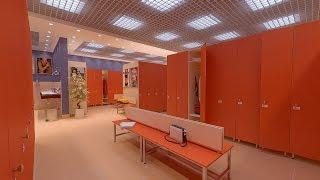 Шкафы для раздевалки(Мебельная фабрика