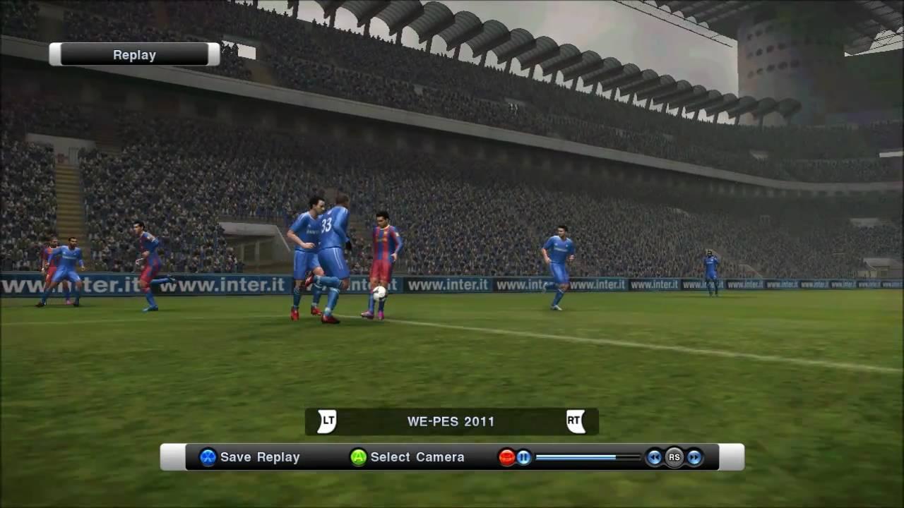 Pes 2011 pc chelsea vs barcelona messi incredible bicycle kick goal hd youtube - Messi bicycle kick assist ...