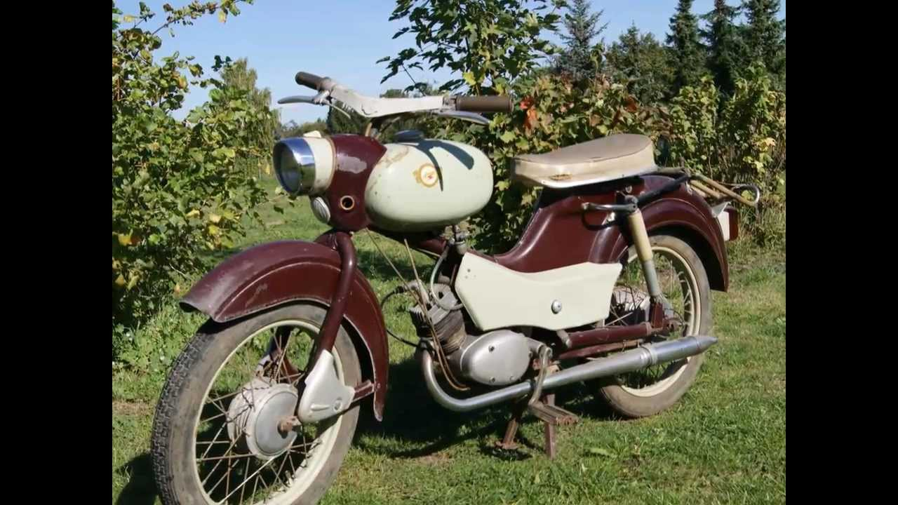 ddr ifa simson spatz 50ccm oldtimer moped pedalen 2ps