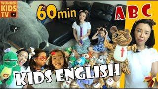 kids english [재미있는 영어공부 60분] ABC 파닉스 어린이영어 영어동화 phonics for kids english