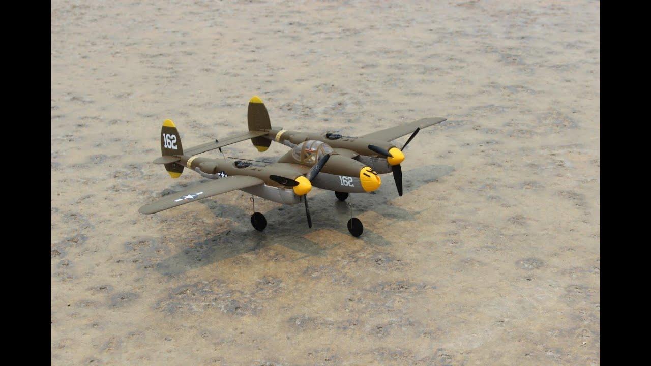 Rc lockheed p-38 lightning