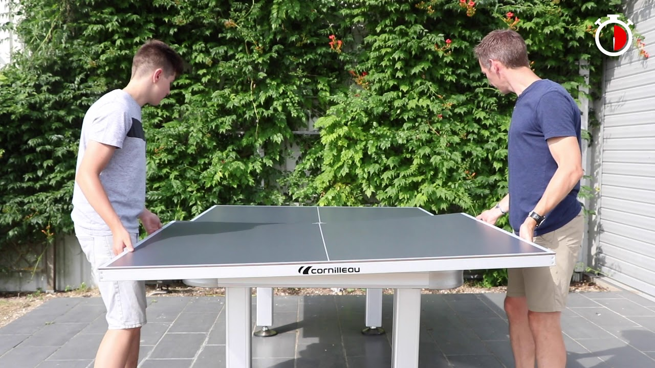 Table De Ping Pong Transformable convertissez votre billard en table de ping-pong outdoor cornilleau en  seulement 2 minutes!