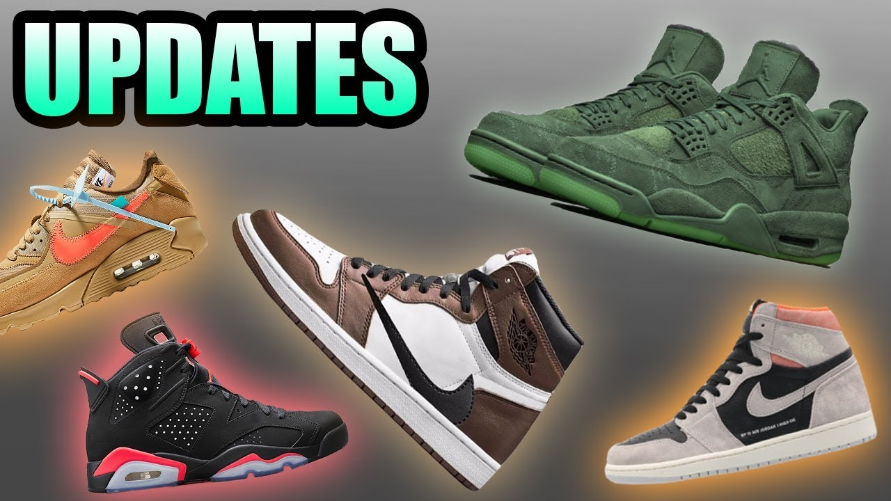 876e442d6da Green Jordan 4 KAWS | Crimson Jordan 1 | Sneaker Updates 21 - YouTube
