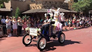2015 Easter Pre-Parade at Magic Kingdom, Walt Disney World