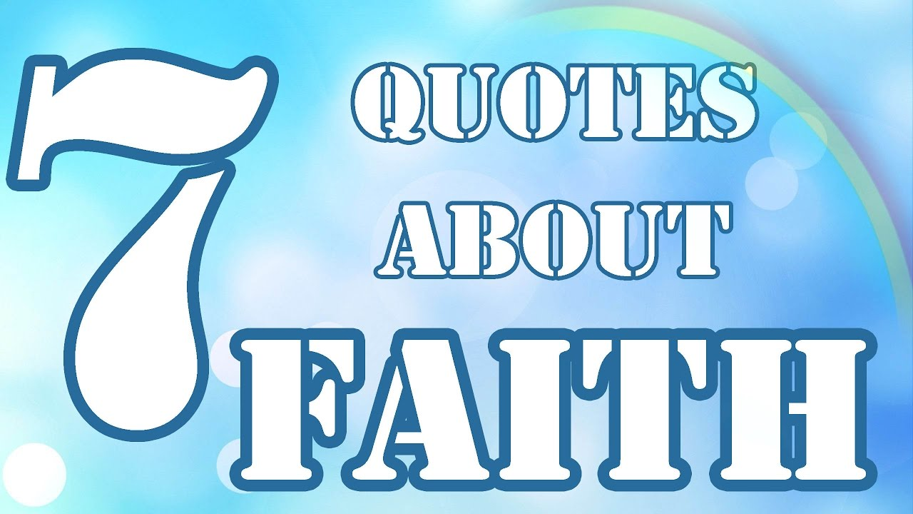 7 Quotes About Faith Motivational Quotes About Faith That Will
