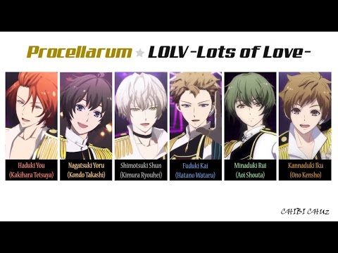 [TSUKIUTA] LOLV (Lots Of Love) - Procellarum (Lyrics)