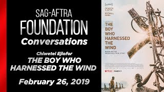 Conversations with Chiwetel Ejiofor of THE BOY WHO HARNESSED THE WIND