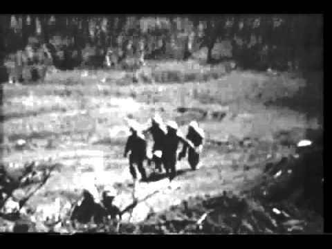 Iwo Jima, Marines in action, handling of casualties