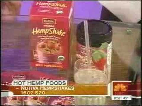 Hot Hemp Foods on Today Show