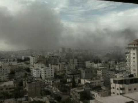 Dramatic footage of Israel bombings in Gaza