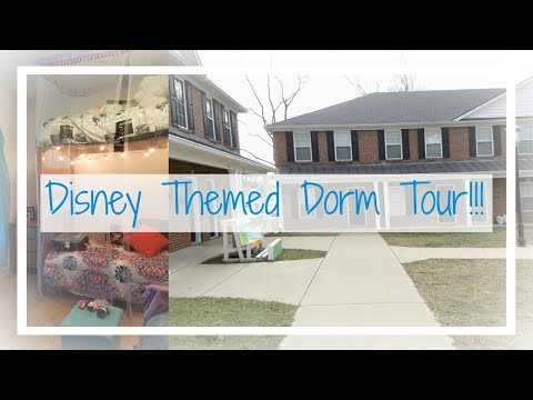 Disney Themed Dorm Tour!!! ll Georgetown College Hambrick Village Room Tour