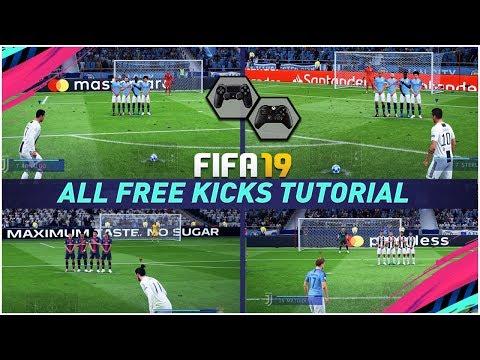 FIFA 19 free kicks, penalties, and set pieces - how to take free