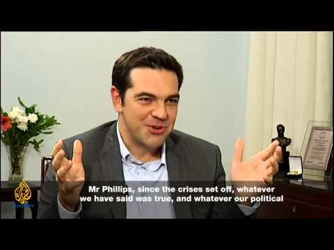 Talk to Al Jazeera - Alexis Tsipras: Frontline of a financia