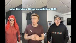 Luke Davidson Funny Moments Tiktok Complation 2021 FUNNY!!