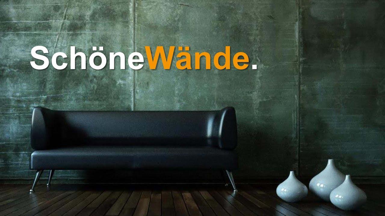 sch ne w nde mit flexbeton flexrost flexschiefer flextravertin und flexnaturschiefer youtube. Black Bedroom Furniture Sets. Home Design Ideas