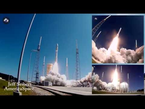 MUOS-5 launch compilation