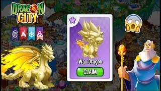 Dragon City - Unlocked WAX DRAGON + Fight PvP [EXCLUSIVE CARD PACK]