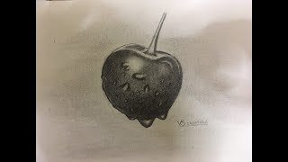 #pencil sketch#cherry#  how to draw cherry# vs creations
