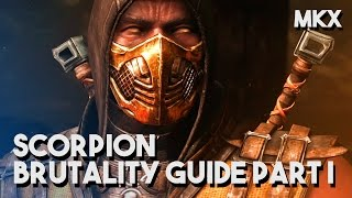 "Video MKX - How To Do Scorpion's ""Get Over Here"" Brutality - Scorpion Brutality Guide Part I download MP3, 3GP, MP4, WEBM, AVI, FLV Februari 2018"